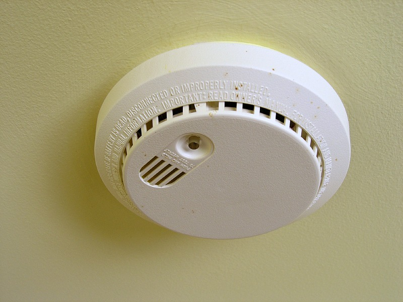 Home Maintenance Tip: Test your Smoke Detectors and Replace Every 10 Years