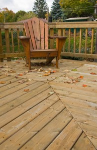Home Maintenance Tip: Clean and Seal your Wood Deck