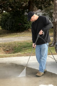Home Maintenance Tip: Clean Your Concrete Driveway