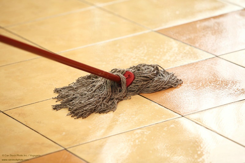 Home Maintenance Tip Clean Your Ceramic Tile Floors And Grout - How to protect ceramic tile floors