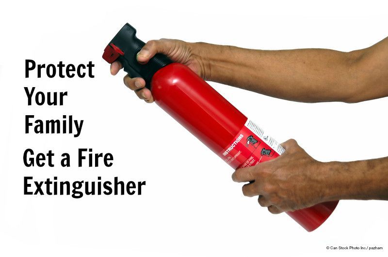 Home Maintenance Tip: Get a Fire Extinguisher