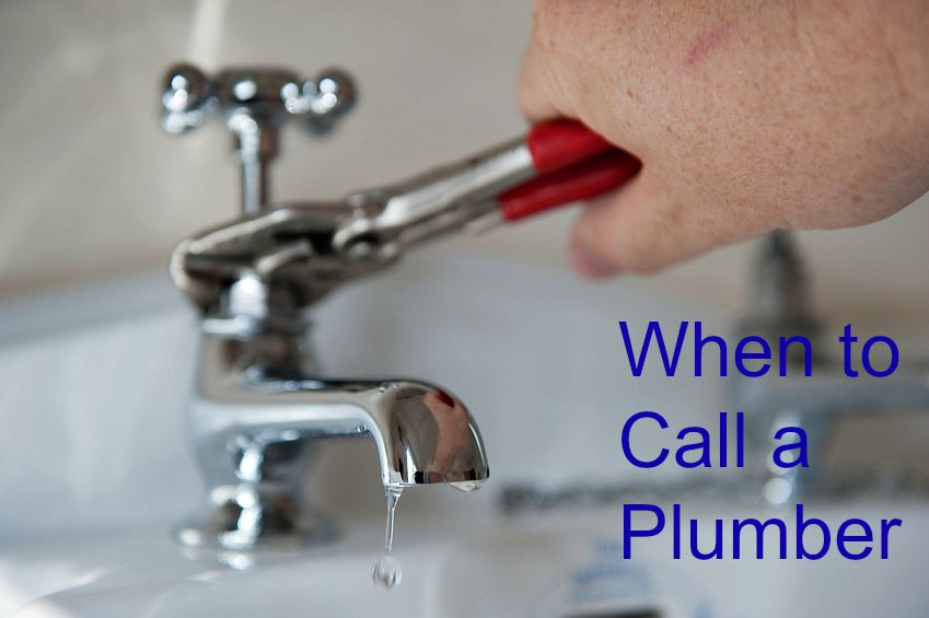 Home Maintenance Tip: When to Call a Plumber