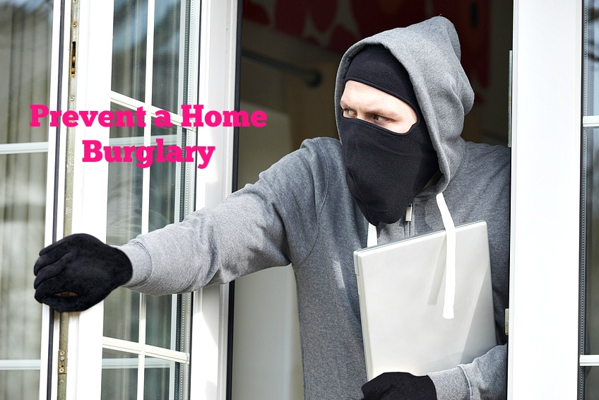 Home Maintenance Tip: Prevent a Home Burglary
