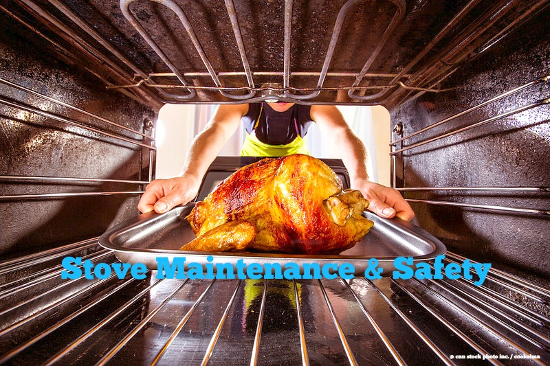 Home Maintenance Tip: Stove Maintenance and Safety