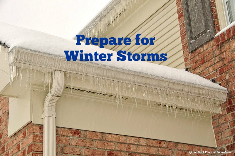 Home Maintenance Tip: Prepare for Winter Storms