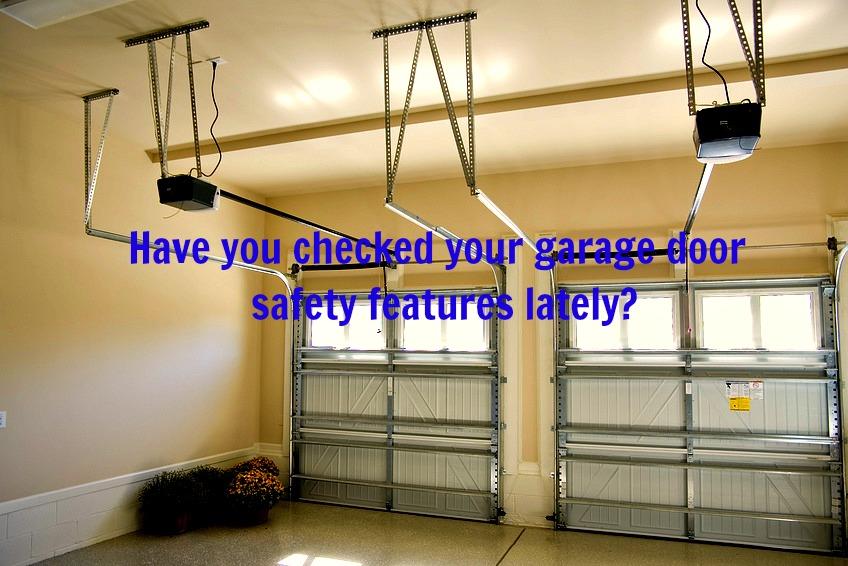 Home Maintenance Tip: Garage Door Safety