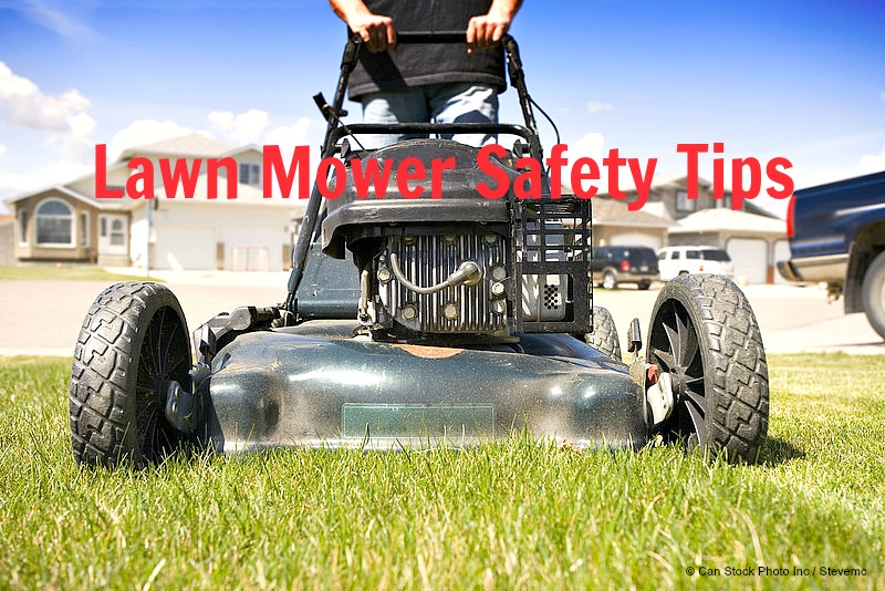 Home Maintenance Tip: Lawn Mower Safety