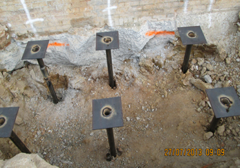 Helical Pier Installation For New Homes