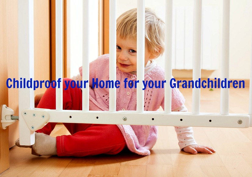 Home Maintenance Tip: Childproof your Home for your Grandchildren